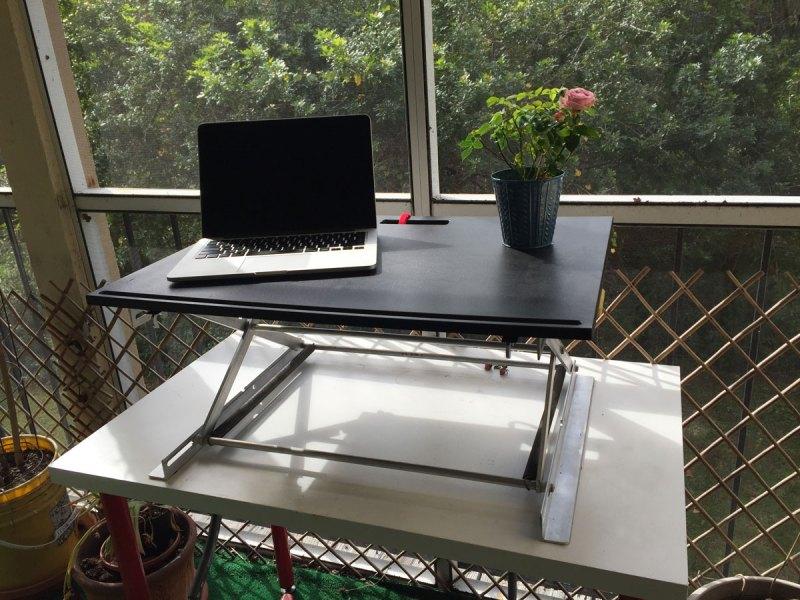 Standing Desk Outside