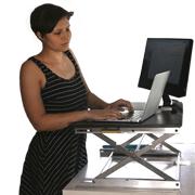 adjustable desktop workstation