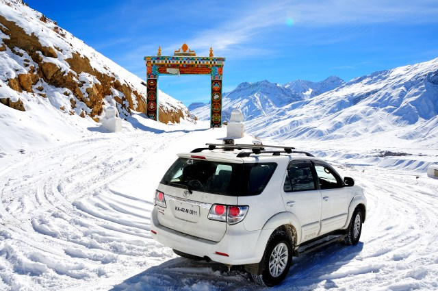 Winter Drive to Spiti