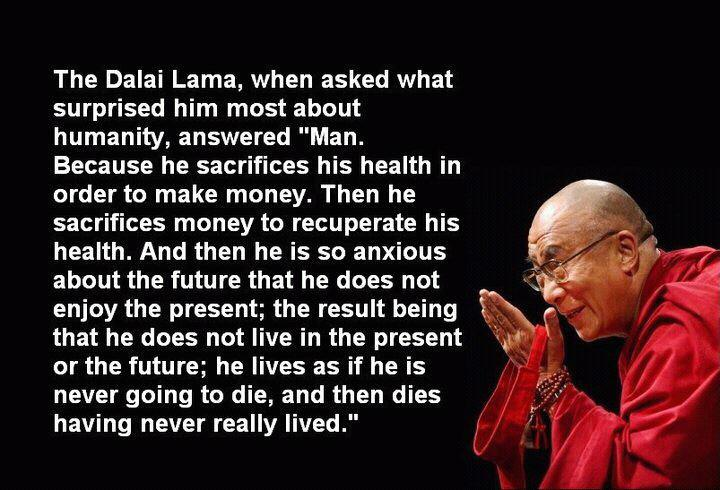 Marvelous Health,money,Dalai Lama,Life / Learning   Inspirational Quotes, Pictures U0026