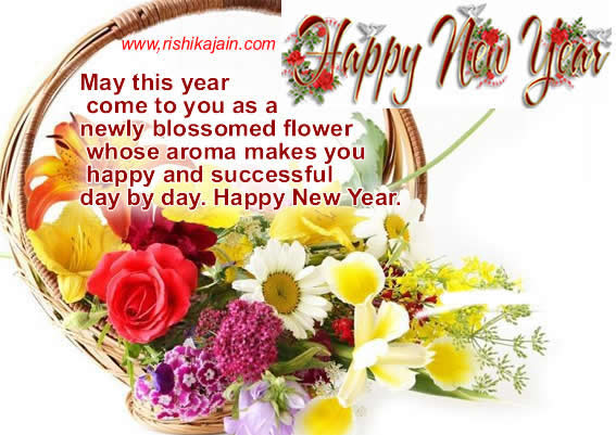 flower new year quotes
