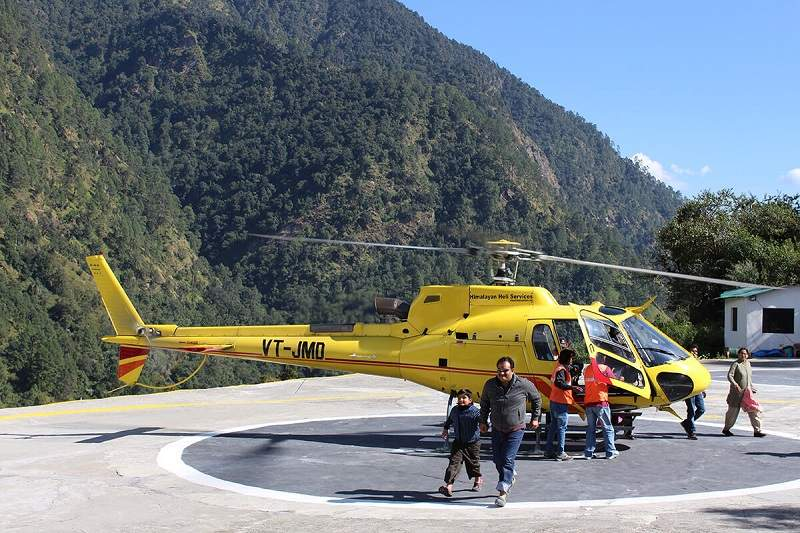 A Sojourn Above The Clouds Kedarnath By Helicopter