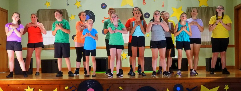 summer musical theater camp