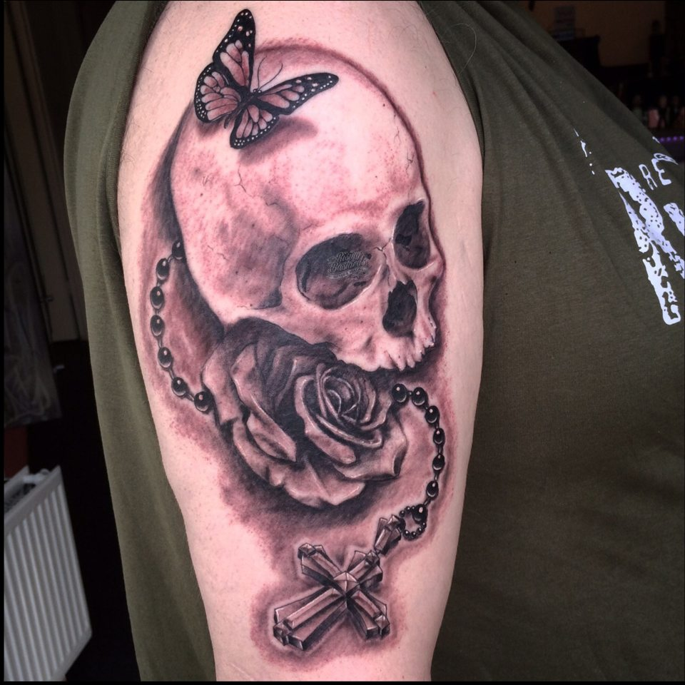 skull_tattoo_butterfly_tattoo_risingbastards_arnhem_tattoodruten_gelderland_tattooing