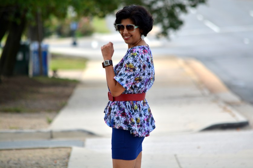 How to style Peplum Top
