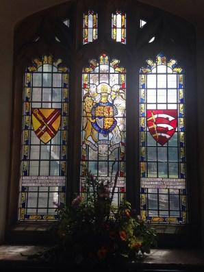 Window Honoring American's troops in WWII