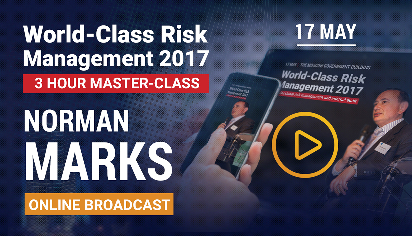 Get exclusive access to Norman Marks online broadcast