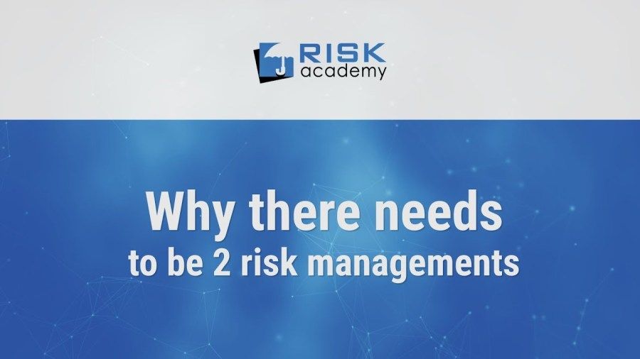 82. Each company needs 2 risk managements – Alex Sidorenko