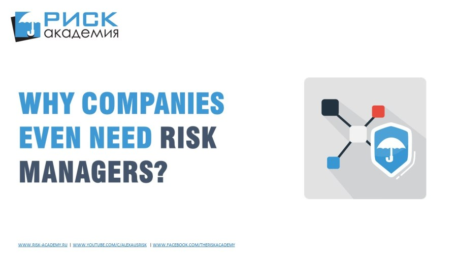 20. Do companies even need a risk manager? – Alex Sidorenko
