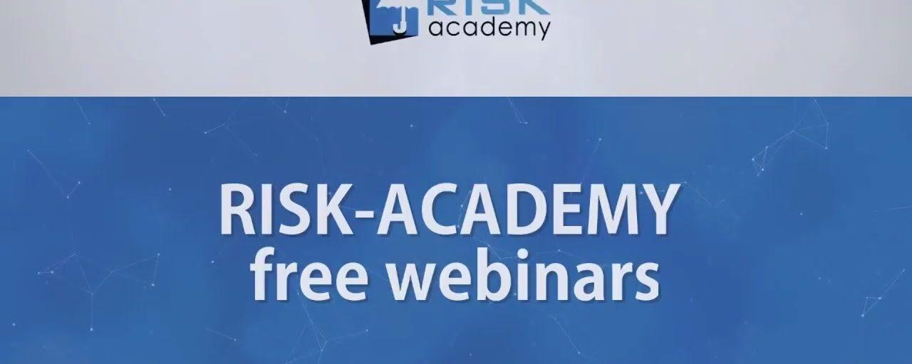 97. RISK ACADEMY free webinars