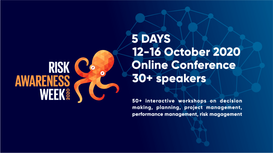 I am giving away 50 full tickets to #riskawarenessweek2020 to students studying risk management