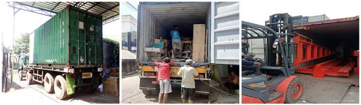 pengiriman via container