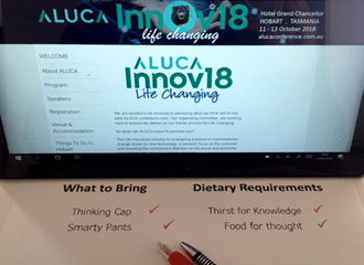 ALUCA Innov18 Life Changing Conference – ARE YOU READY?