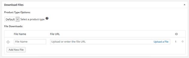 Easy Digital Downloads - Add File