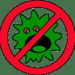 細菌寄生虫禁止