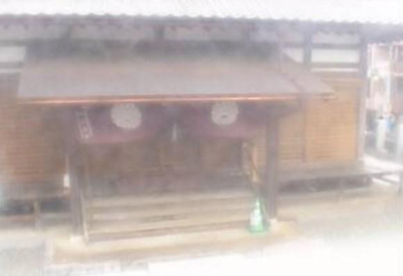 お寺のカメラ