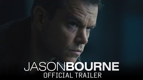 Bourne is Back – July 2016