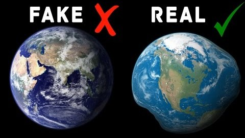 Did You Know The Earth Is Shaped Like An Irregular Potato?