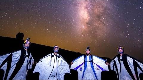 Flying Among The Shooting Stars