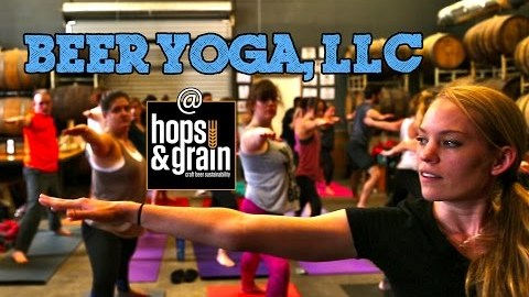 Beer + Yoga – Finally!