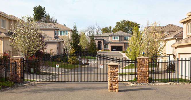 Gated Community Homes Demand Higher Prices