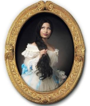 Nicki Minaj ritratta da Francesco Vezzoli