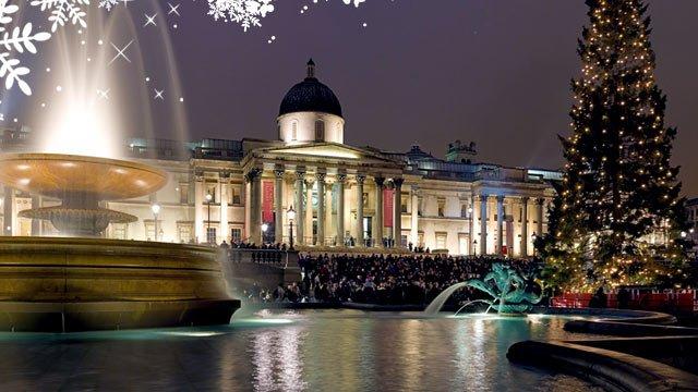 Londra mercatini di Natale