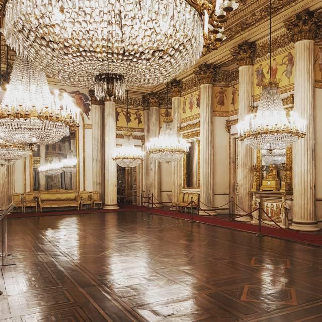 La Sala da ballo - Palazzo Reale - Torino