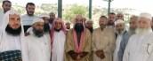 Salahudine Ben Ibrahim avec nos frères en Palestine