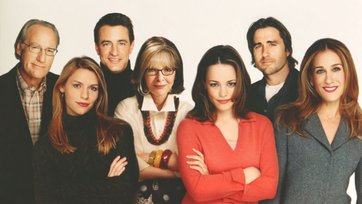 'The Family Stone': A Christmas Meet the Family Comedy. A review of the 2005 ensemble film with Luke Wilson, Sarah Jessica Parker and more. Text © Rissi JC