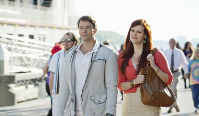 'My Future Boyfriend': A TV Time Travel Kind of Romance. A review of the 2011 ABC Family rom-com with Sara Rue. Text © Rissi JC