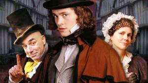 'DAVID COPPERFIELD' (2000): THE HALLMARK VERSION OF DICKENS MASTERPIECE. Review of the Hugh Dancy TV miniseries. Text © Rissi JC