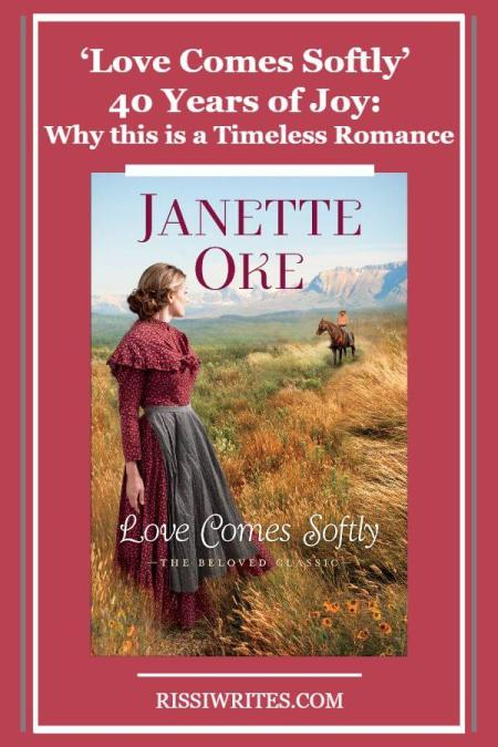 'Love Comes Softly' 40 Years of Joy: Why this is a Timeless Romance. Talking about Love Comes Softly 40 years later. Text (except when noted) © Rissi JC