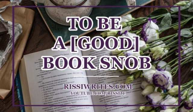 the book snob tag