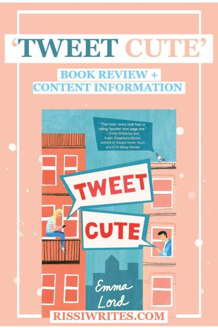 Social Media War Inspires New 'Tweet Cute' Romance. Review of the 2020 novel YA novel by Emma Lord. All text © Rissi JC