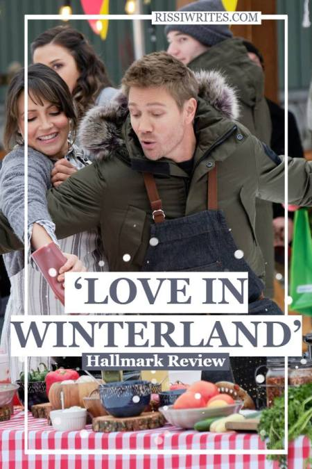 Reality Inspires Second Chance in 'Love in Winterland.' Review of the 2020 romance original with Italia Ricci and Chad Michael Murray. Text © Rissi JC