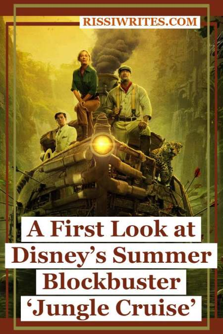 A First Look at Disney's Summer Blockbuster 'Jungle Cruise.' Talking about Disney's Jungle Cruise. Are you excited? Stars Emily Blunt and Dwayne Johnson