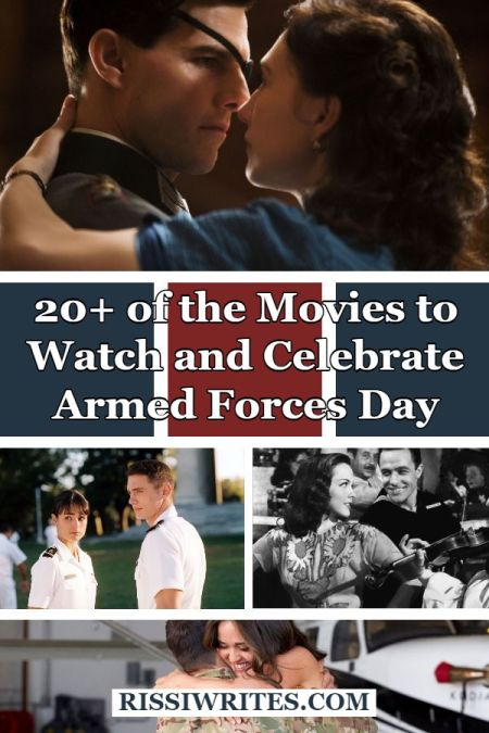 20+ of the Movies to Binge-Watch & Celebrate Armed Forces Day. Talking Armed Forces Day movies to enjoy for this 2020 celebratory day. Text © Rissi JC