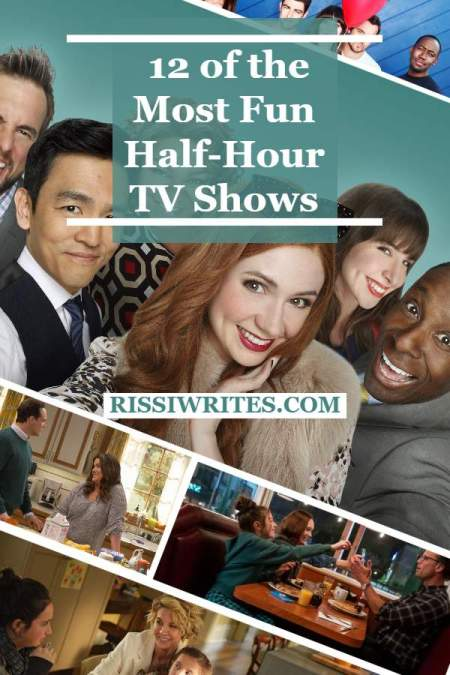 12 of the Most Fun Half-Hour TV Shows (Past and Present). Sharing some favorite and funny half-hour TV shows. Text © Rissi JC