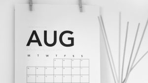 month in review august 2020