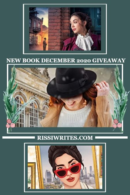 NEW BOOK DECEMBER 2020 GIVEAWAY (and All of the Shiny New Books!). Another month means a new giveaway hop feature! Come by & enter the fun.