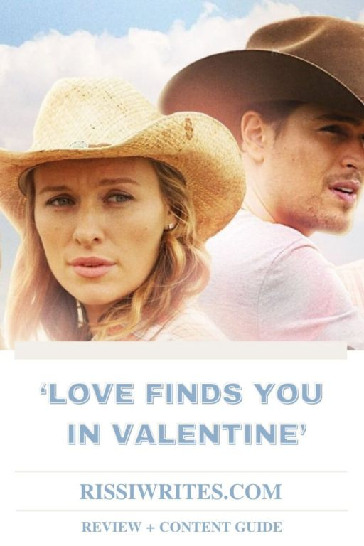 'LOVE FINDS YOU IN VALENTINE': A ROMANCE AND MYSTERY. A review of the UPtv film based on the Irene Brand novel. All text © Rissi JC