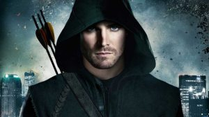 'ARROW,' SEASON ONE (2012). A man returns after five years missing to become a vigilante in the city he lives. All text is © Rissi JC / RissiWrites.com