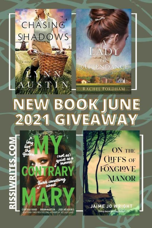 """NEW BOOK GIVEAWAY JUNE 2021. Another month with another book giveaway June 2021; which """"winner's choice"""" book would you pick? Text © Rissi JC"""