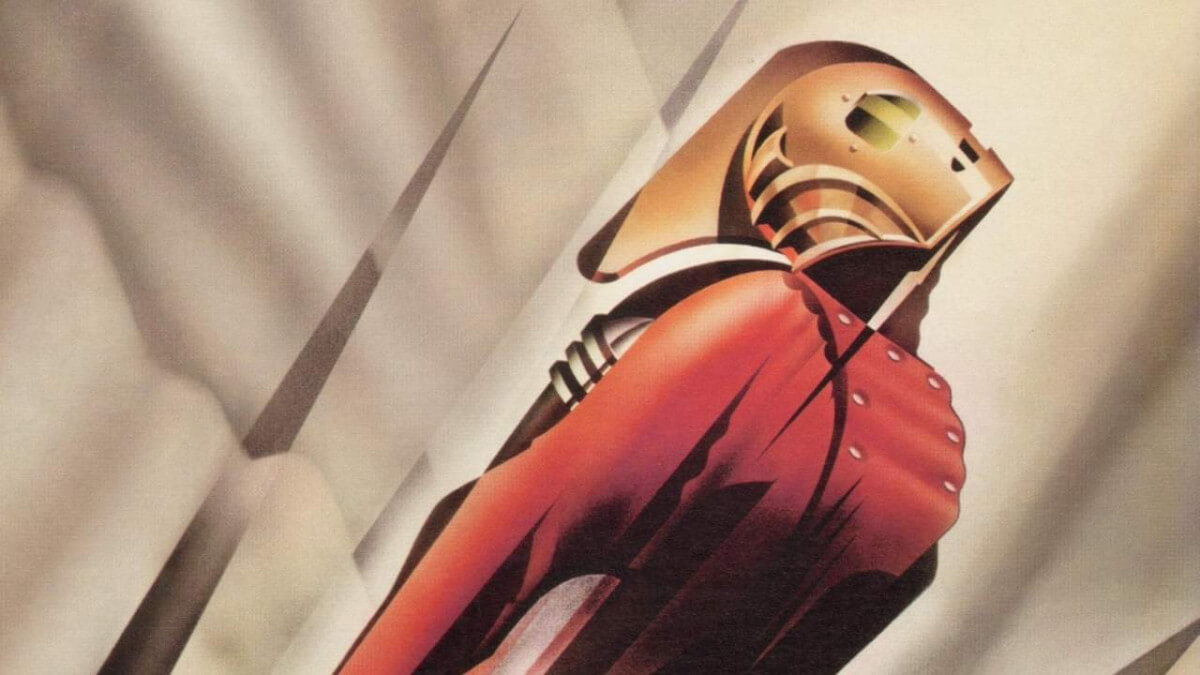 ABOUT A FUN DISNEY MOVIE ANNIVERSARY + QUIZ: 'THE ROCKETEER,' 30 YEARS LATER. Chatting about this Disney movie anniversary. All text is © Rissi JC Photos: Disney