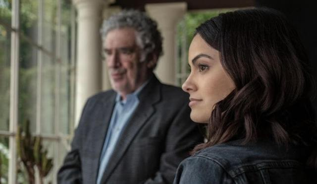 """'DANGEROUS LIES': MORE OF A THINKING THRILLER THAN ADRENALINE RUSH. A Netflix drama """"thriller"""" with Camilla Mendes. Text is © Rissi JC"""