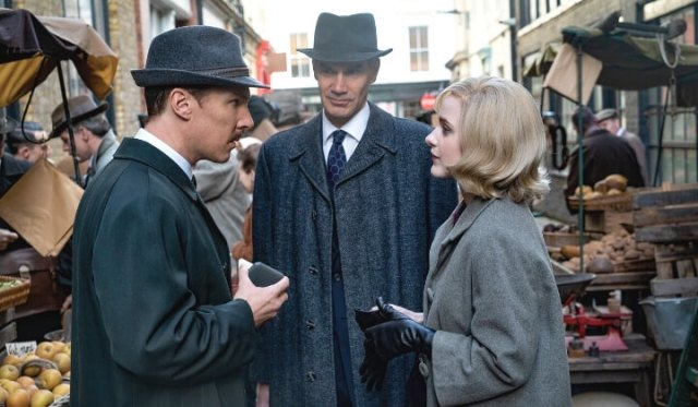'THE COURIER': A DARK BUT INSPIRING REAL-LIFE DRAMA. Benedict Cumberbatch stars in this 2020 drama. All text is © Rissi JC