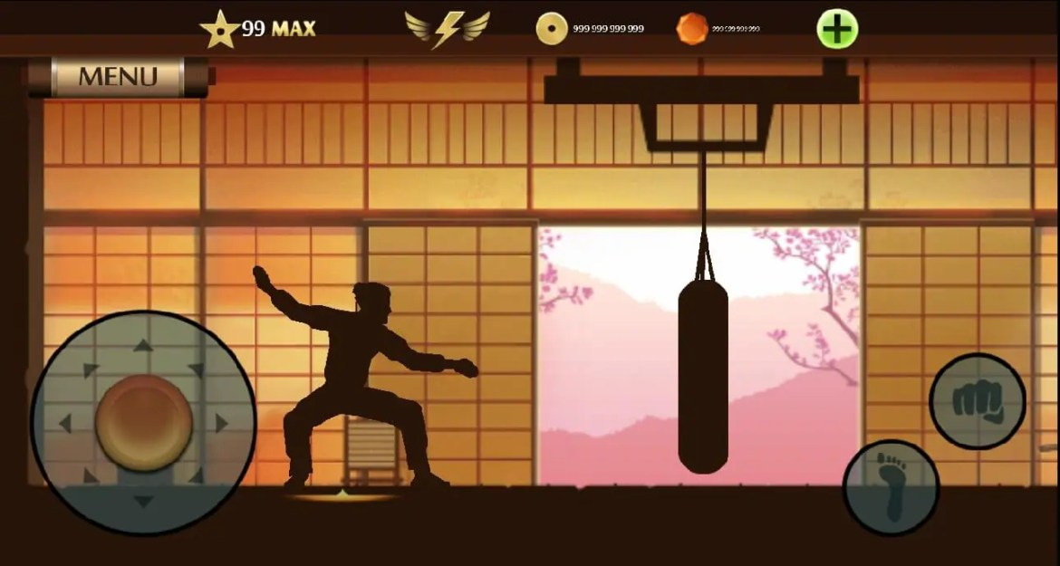 shadow fight 2 level 99 Apk