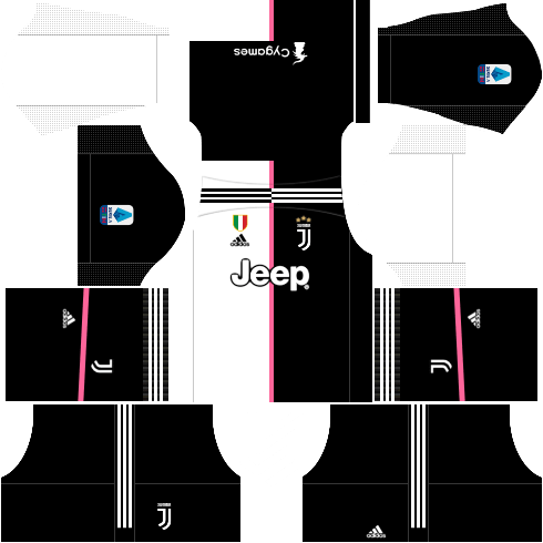 Juventus Kit 2019-20 For Dream League Soccer 2019 - RisTechy