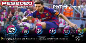 PES 2020 Lite PPSSPP-PSP Iso